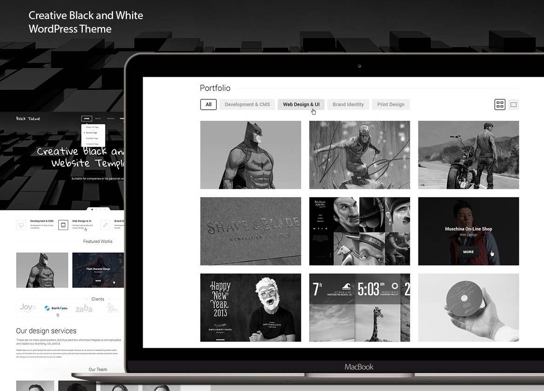 44 Creative Black and White